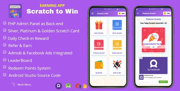 Scratch to Win Android App Source Code